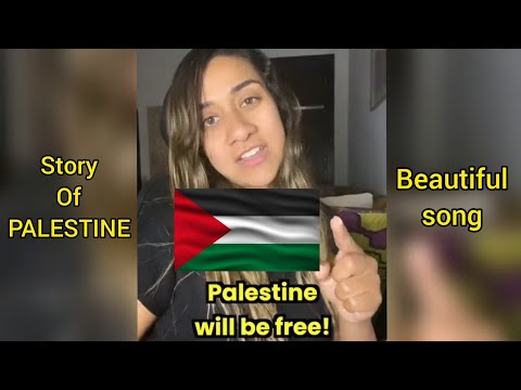 Palestine Song Full Song 🇵🇸 - Story Of Palestine and Israel | Emmasworld | Wellerman