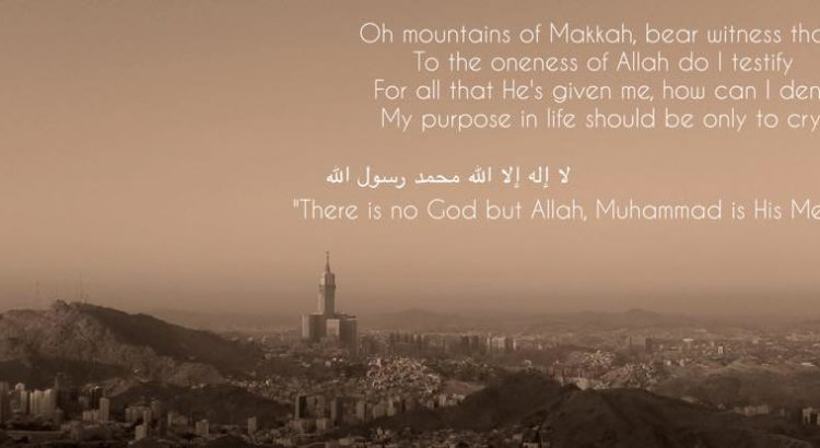 Mountains of makkah