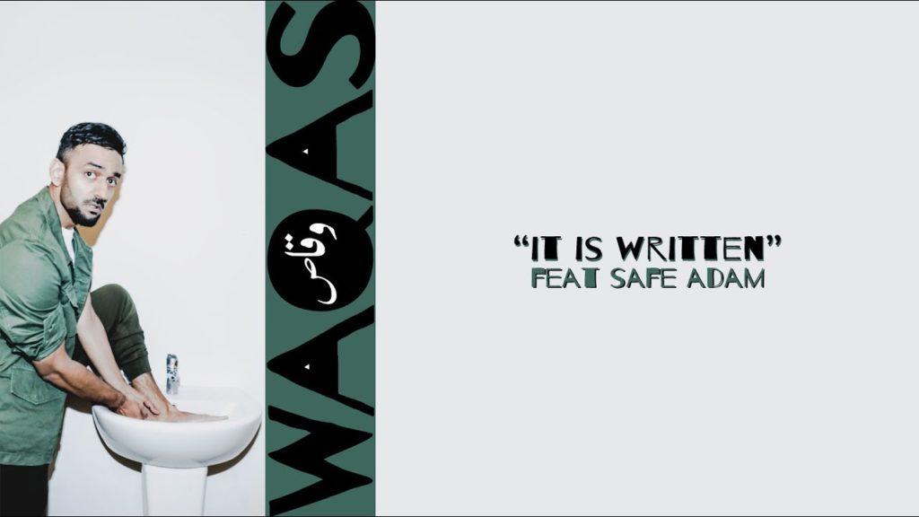 Waqas it is written
