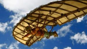 Muslim flying machine Abbas ibn Firnas